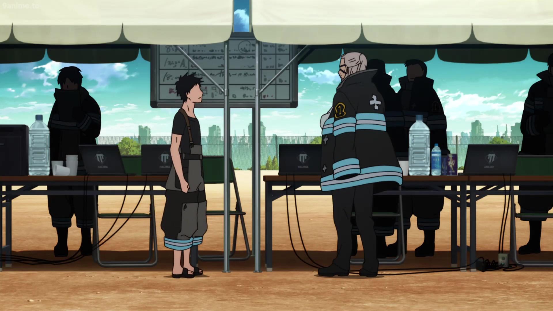Watch Fire Force Episode 3 English Dubbed - AnimeGT